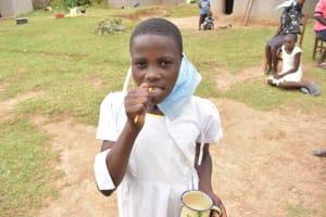 The Water Project: Wepika Community, Musa Mmasi Shikwe Spring -  Dental Hygiene Demonstration