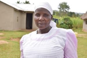 The Water Project: Wepika Community, Musa Mmasi Shikwe Spring -  Mirriam Kitei Water User Committee Treasurer