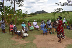 The Water Project: Wepika Community, Musa Mmasi Shikwe Spring -  Question And Answer Session