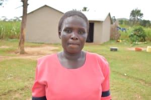 The Water Project: Wepika Community, Musa Mmasi Shikwe Spring -  Robai Mukangu Water User Committee Secretary