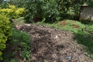 The Water Project: Sundulo B Community, Luvisia Spring -  Garbage Disposal Point