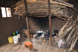The Water Project: Sundulo B Community, Luvisia Spring -  Inside Kitchen