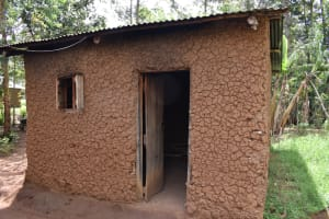 The Water Project: Sundulo B Community, Luvisia Spring -  Outside Of The Kitchen