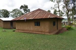 The Water Project: Sundulo B Community, Luvisia Spring -  Sample Homestead