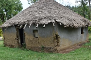 The Water Project: Sundulo B Community, Luvisia Spring -  Traditional House