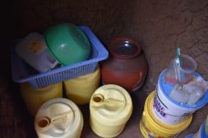 The Water Project: Sundulo B Community, Luvisia Spring -  Water Storage
