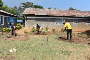 The Water Project: Gimarakwa Primary School -  Excavation