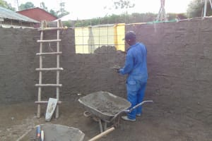 The Water Project: Gimarakwa Primary School -  Inside Plaster Of The Tank