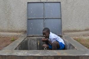 The Water Project: Gimarakwa Primary School -  Celebrations At The Rain Tank