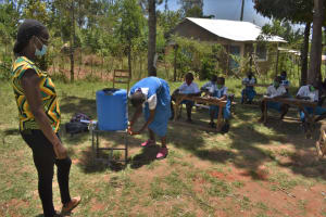 The Water Project: Gimarakwa Primary School -  Handwashing Training
