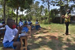 The Water Project: Gimarakwa Primary School -  Handwashing Exercise