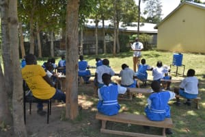 The Water Project: Gimarakwa Primary School -  Training On Solar Disinfection Of Water