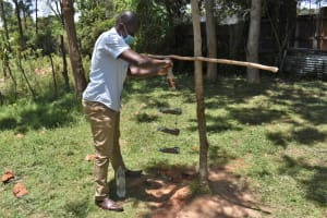 The Water Project: Gimarakwa Primary School -  Showing How To Make And Use A Kitchen Garden