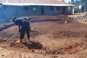 The Water Project: Saosi Primary School -  Excavation
