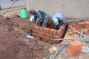 The Water Project: Saosi Primary School -  Drawing Point Construction
