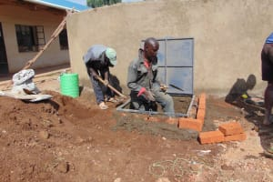 The Water Project: Saosi Primary School -  Cover Placement