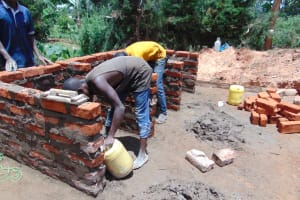 The Water Project: Saosi Primary School -  Walling
