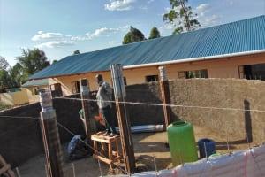 The Water Project: Saosi Primary School -  Pillar Setting