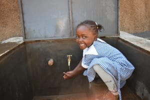 The Water Project: Saosi Primary School -  Celebrating At The Water Point