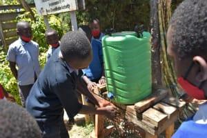 The Water Project: Saosi Primary School -  Handwashing
