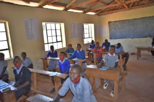 The Water Project: Saosi Primary School -  Participants Listening In To The Facilitator