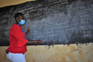 The Water Project: Saosi Primary School -  The Facilitator Leading The Session