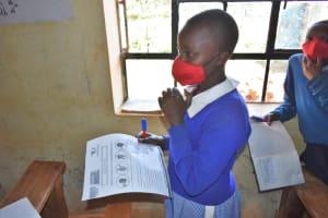 The Water Project: Saosi Primary School -  Training On Coronavirus Prevention