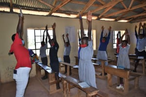 The Water Project: Saosi Primary School -  Stretching Break