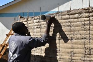 The Water Project: Shikomoli Primary School -  Overflow Setting