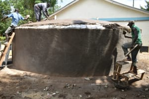 The Water Project: Shikomoli Primary School -  Dome Placement