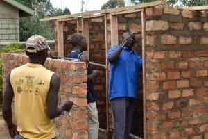 The Water Project: Shikomoli Primary School -  Door Frame Setting