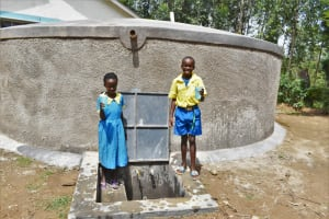 The Water Project: Shikomoli Primary School -  Safe Water For Students
