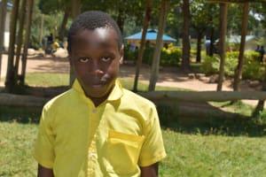 The Water Project: Shikomoli Primary School -  Student Samuel