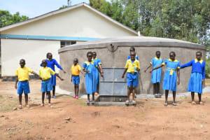 The Water Project: Shikomoli Primary School -  Look Clean Water