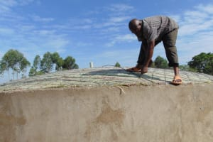 The Water Project: Isikhi Primary School -  Dome Reinforcement