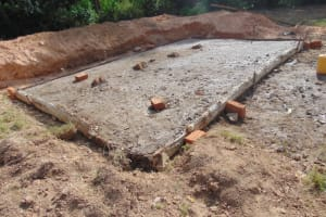 The Water Project: Isikhi Primary School -  Latrine Slab