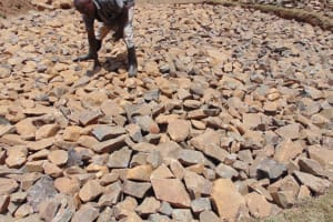 The Water Project: Isikhi Primary School -  Stone Foundation
