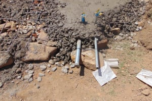 The Water Project: Isikhi Primary School -  Setting The Pipes
