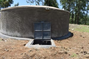 The Water Project: Isikhi Primary School -  Complete Rain Tank