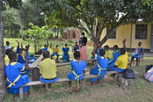 The Water Project: Isikhi Primary School -  Students Undergoing A Training Session