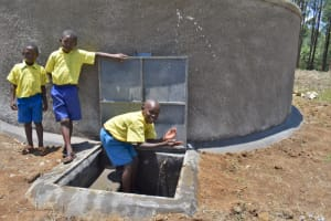 The Water Project: Isikhi Primary School -  Making A Splash In Celebration