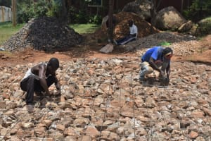 The Water Project: Galona Primary School -  Wire Reinforcement