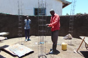 The Water Project: Galona Primary School -  Pillar Setting
