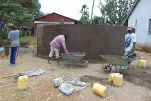 The Water Project: Galona Primary School -  Plaster Works