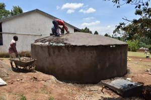 The Water Project: Galona Primary School -  Dome Setting