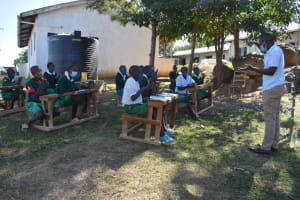 The Water Project: Galona Primary School -  Training On Handwashing