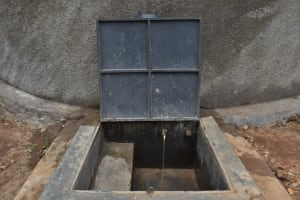 The Water Project: Galona Primary School -  Water Flowing