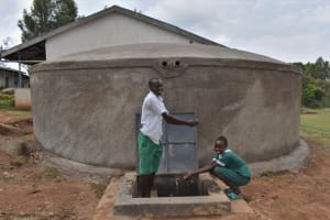 The Water Project: Galona Primary School -  Students United Over Clean Water At School