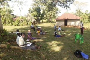 The Water Project: Mwitwa Community, Matiang'i Spring -  Training In Session