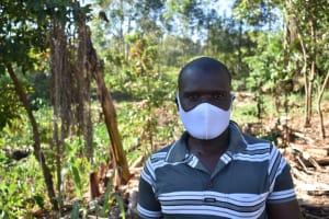 The Water Project: Khaunga A Community, Murutu Spring -  Dickson Murutu